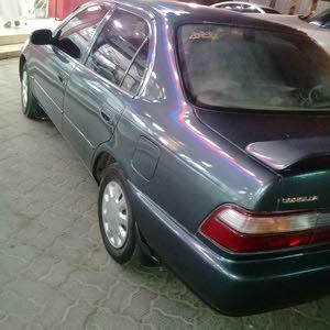 تويوتا كورولا 1995 بحاله جيده للبيع