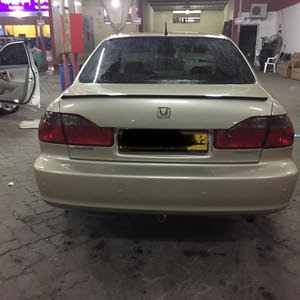 Used condition Honda Accord 2002 with 0 km mileage