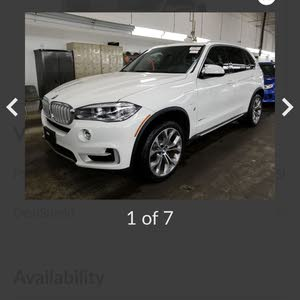 Used condition BMW X5 2017 with  km mileage