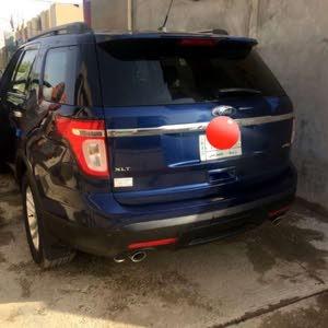 Blue Ford Explorer 2012 for sale