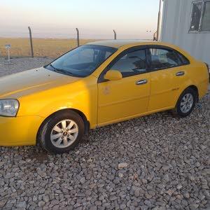 شوفرليت اوبترا صفراء اللون 2007