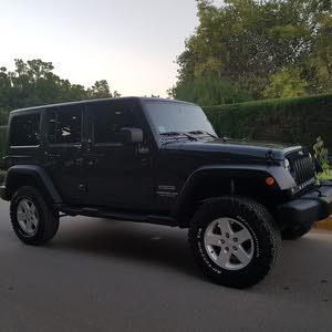 Jeep Wrangler 2017 For sale - Blue color