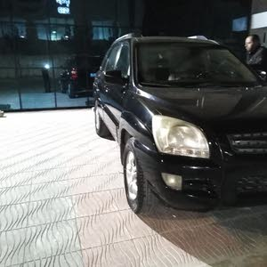 Black Kia Sportage 2007 for sale