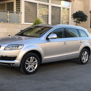 Audi Q7 2007 For sale - Silver color