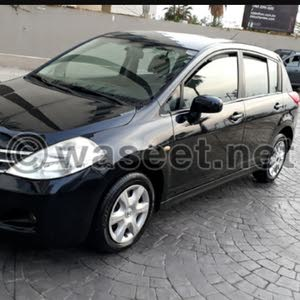 Nissan Tiida 2010 For sale - White color