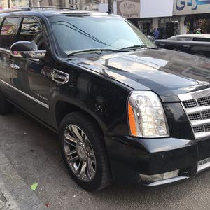 Black Cadillac Escalade 2011 for sale