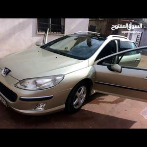 Peugeot 407 2005 For sale - Beige color