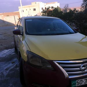 Nissan Sentra 2014 For sale - Yellow color