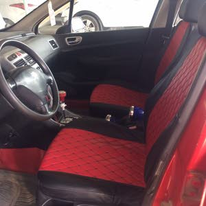 Red Peugeot 307 2005 for sale