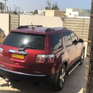 Red GMC Acadia 2012 for sale