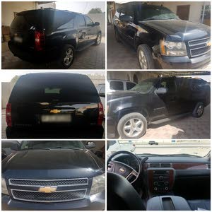 Black Chevrolet Suburban 2012 for sale