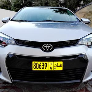 Silver Toyota Corolla 2014 for sale