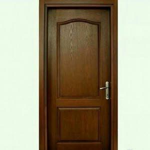 أبواب وديكورات خشبية