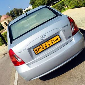 Hyundai Accent 2008 For sale - Silver color