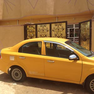 Yellow Chevrolet Aveo 2008 for sale