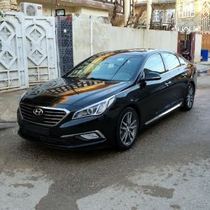 Hyundai Sonata 2016 For sale - Black color