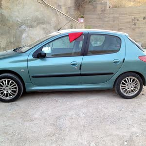 Manual Turquoise Peugeot 2003 for sale