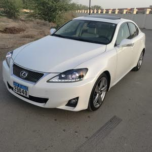 للبيع لكزس IS 250  موديل 2012