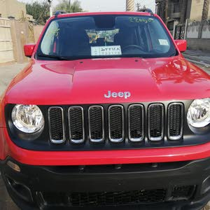 Jeep Renegade 2017 For sale - Red color