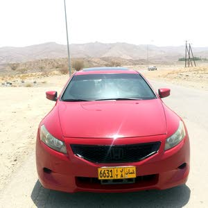 Honda Accord 2009 For sale - Red color