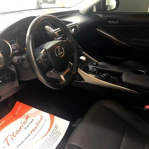 Lexus IS 2014 For sale - Black color