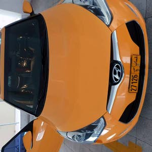 Hyundai Veloster 2015 For sale - Yellow color