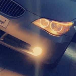 حاجب BMW525 المحرك الاسود