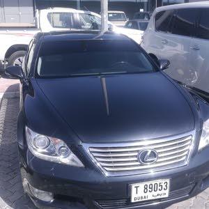 Gasoline Fuel/Power   Lexus LS 2011