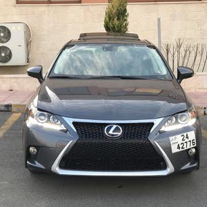 Lexus CT200h full 2016 سي تي فحص 7جيد جمرك جديد