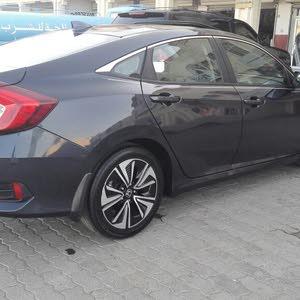 Honda Civic 2017 For sale - Grey color