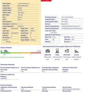**RTA PASSED** Nissan Altima 2.5, Model 2008, GCC