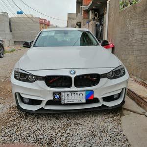 بي ام دبليو 320 موديل 2015 رقم بغداد معوقين BMW