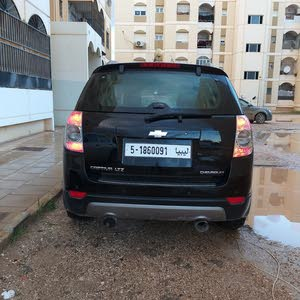 Black Chevrolet Captiva 2008 for sale