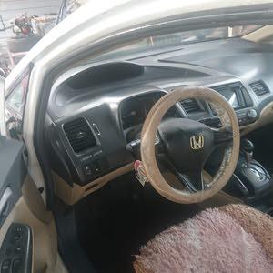 Honda Civic 2008 For sale - White color