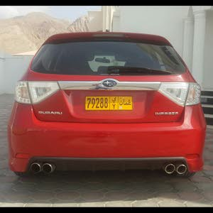 Subaru Impreza 2008 For sale - Red color