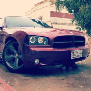Automatic Maroon Dodge 2008 for sale
