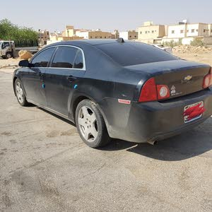 Green Chevrolet Malibu 2010 for sale
