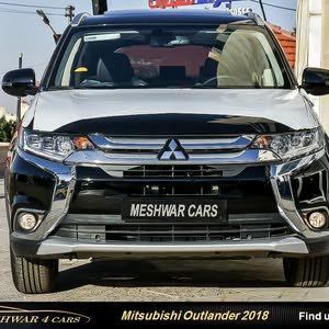 ميتسوبيشي آوتلاندر 2018 Mitsubishi Outlander 4WD