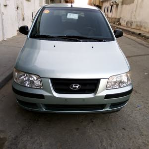 Automatic Turquoise Hyundai 2002 for sale