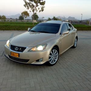 Gold Lexus IS 2007 for sale