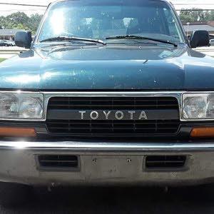 تويوتا لاندكروزر ليلى علوي 1994محرك 24 V6 دفع رباعي 4WD