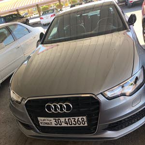 condition Audi A6 2014 with  km mileage