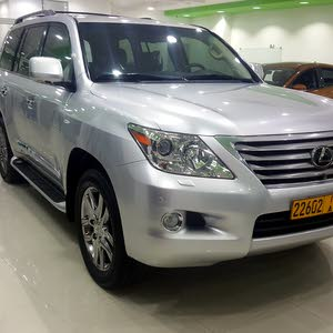 Lexus LX car for sale 2011 in Muscat city