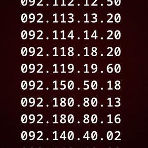 ارقام ليبيانا مميززة ومتسلسله باسمك