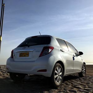 Toyota Yaris 2013 For sale - White color