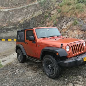 Jeep Wrangler 2011 For sale - Orange color