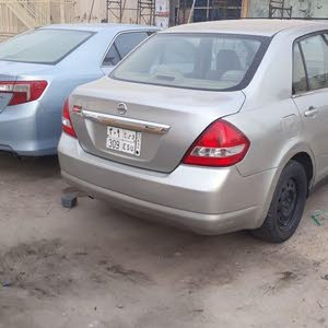 Nissan Tiida car for sale 2007 in Jeddah city