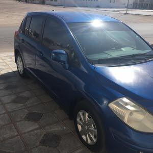 Nissan Tiida 2009 For sale - Blue color