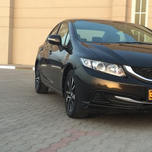 Honda Civic 2013 For sale - Brown color