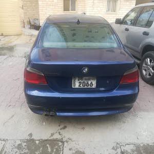 Blue BMW 520 2004 for sale
